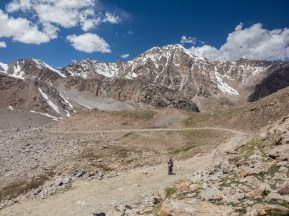 Rock and Roll. Tosor Pass, Kyrgyzstan