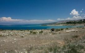 Medditerean sea or a lake? Issyk-kul Lake, Kyrgyzstan