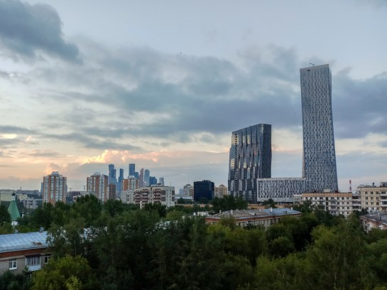 Modern Moscow. Moscow, Russia