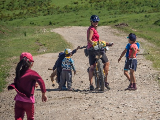 Kids and Dasha, Kyrgyzstan