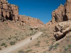 Cesta zpátky. Šaryn kaňon, Kazachstán