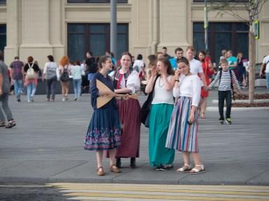 Mladé Rusky. Moskva, Rusko