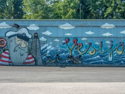 Graffiti. Lahti, Finsko