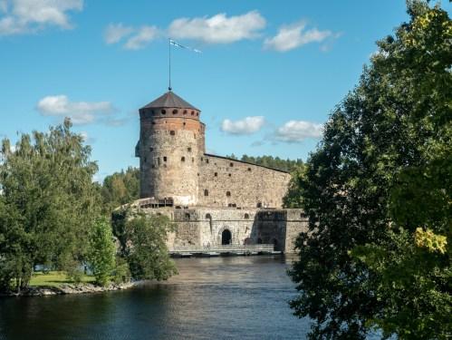 Castle Olavinlinna. Savonlinna, Finland