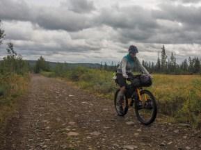 Zadní cesta. Kiruna, Švédsko
