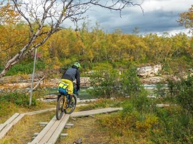 Plank Trail! Abisko NP, Sweden