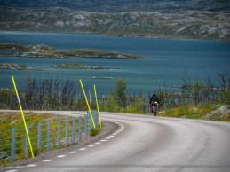 Jedeme do Norska. Riksgränsen, Švédsko