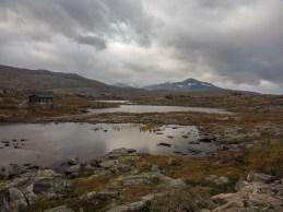 Typické norské prostředí. Norsko