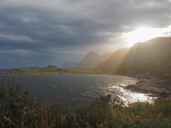 Golden hour. Moskenes, Norway