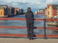 Old harbour. Trondheim, Norway