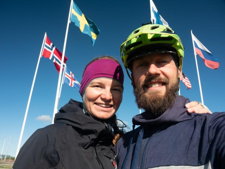 At Polar Circle. Juoksengi, Sweden