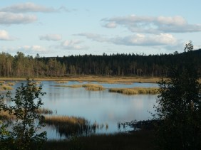 Finland reminder. Vittangi, Sweden