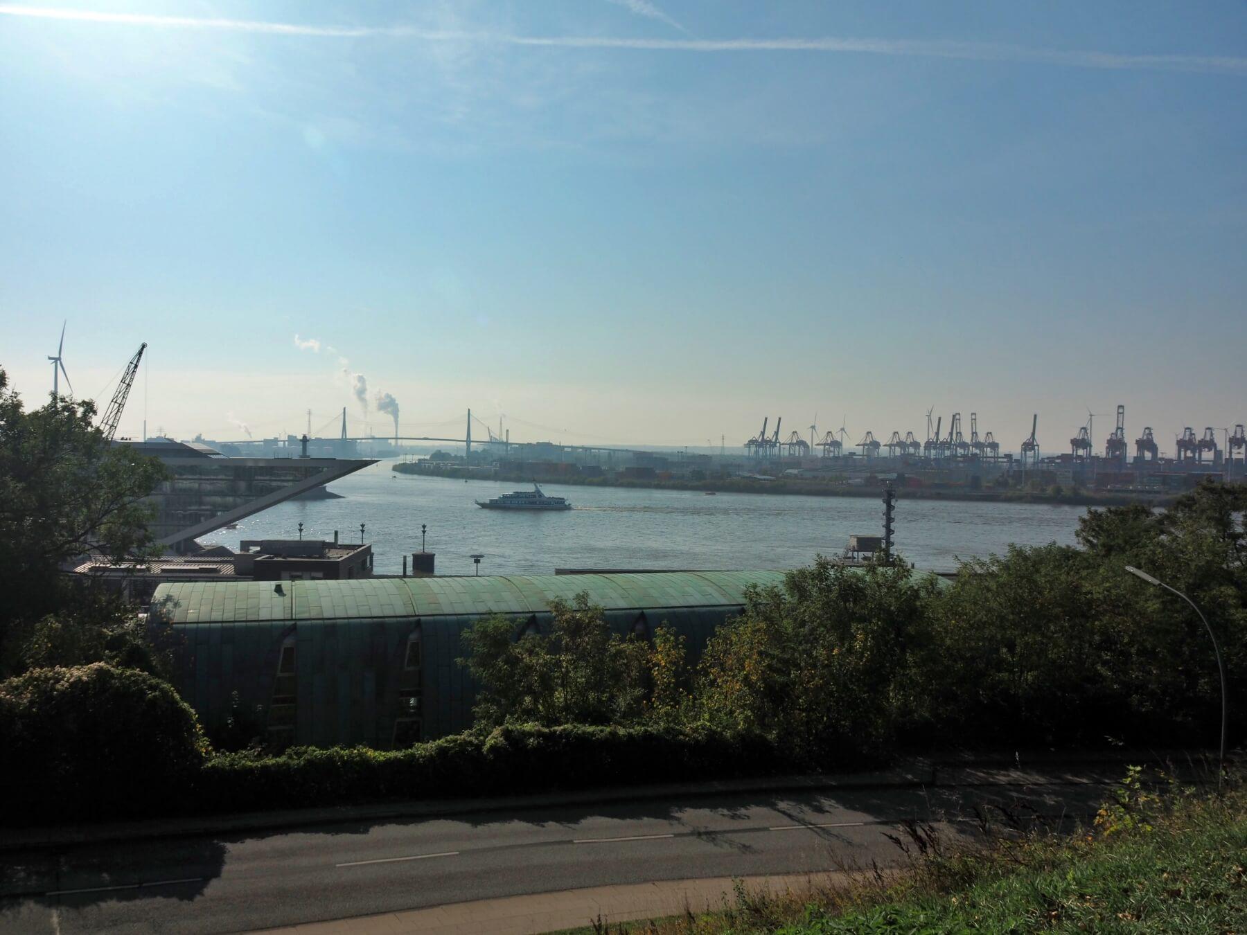 Hamburské přístaviště.