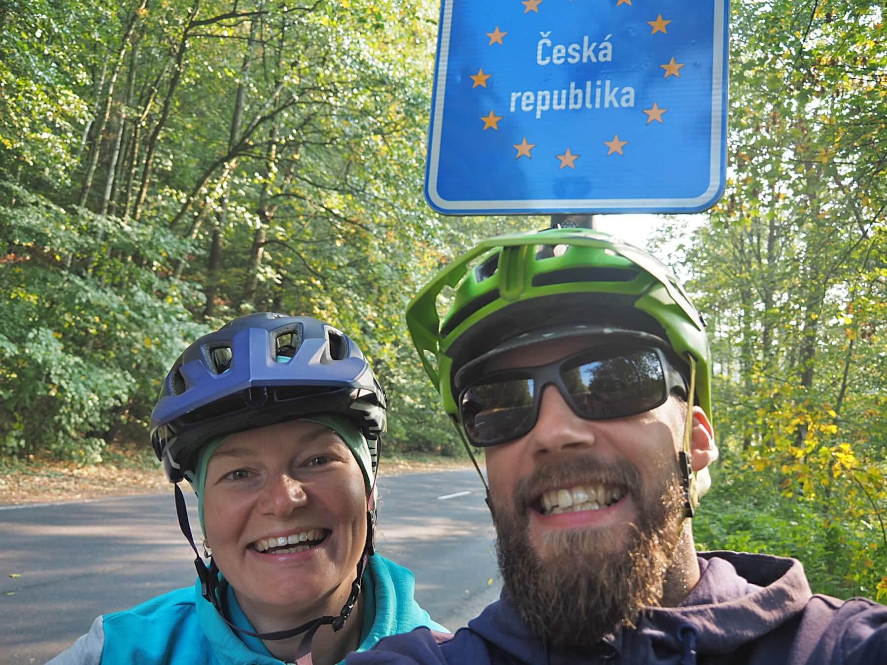Česká republika, po více jak roce cesty jsme doma.
