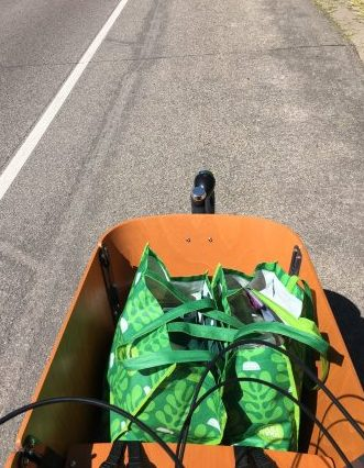 Grocery Shopping by Bike