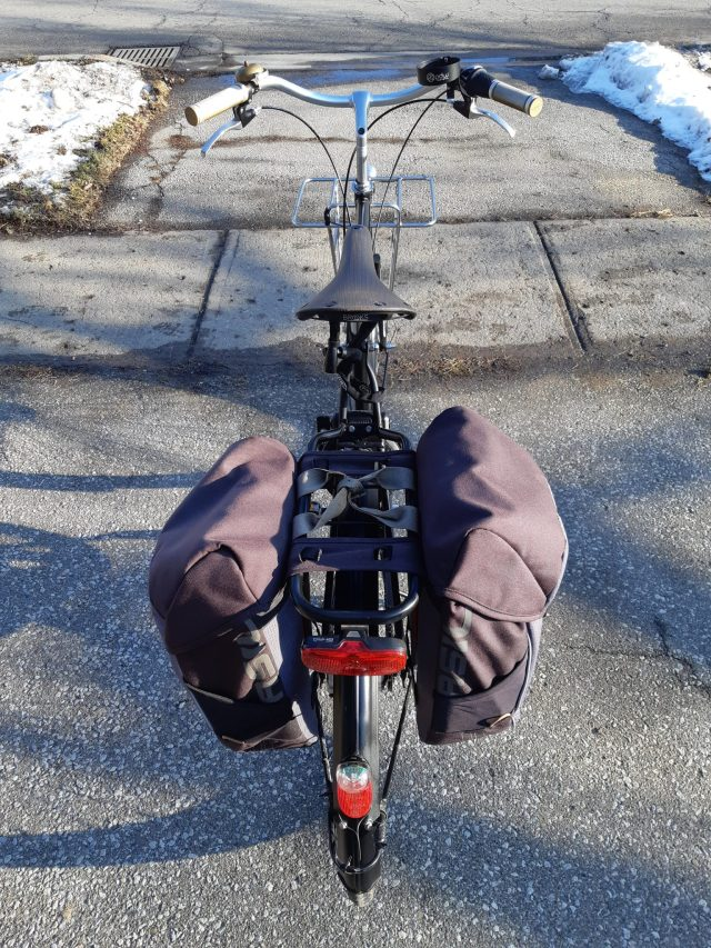 Bicycles As Transport, In Winter