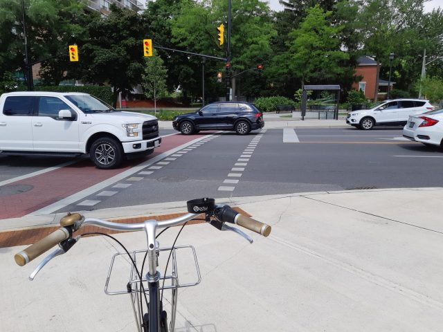 Bicycles As Transport: Intersections