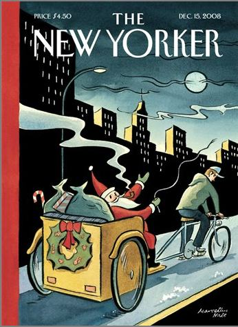 New Yorker Mag Goes Green For Christmas