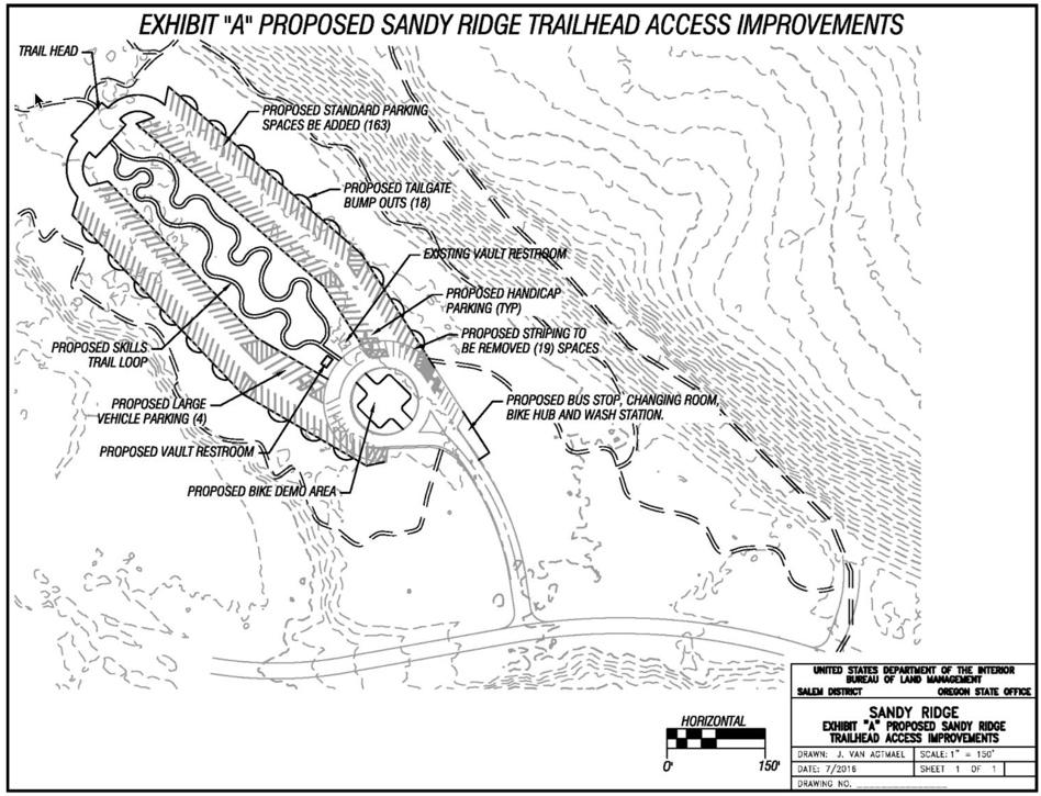 New skills trail, major upgrades proposed for Sandy Ridge