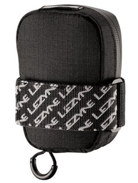 Lezyne Road Caddy in black colour with strap mount