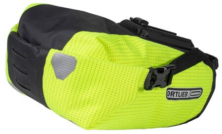 High visibility Ortlieb Saddle-Bag