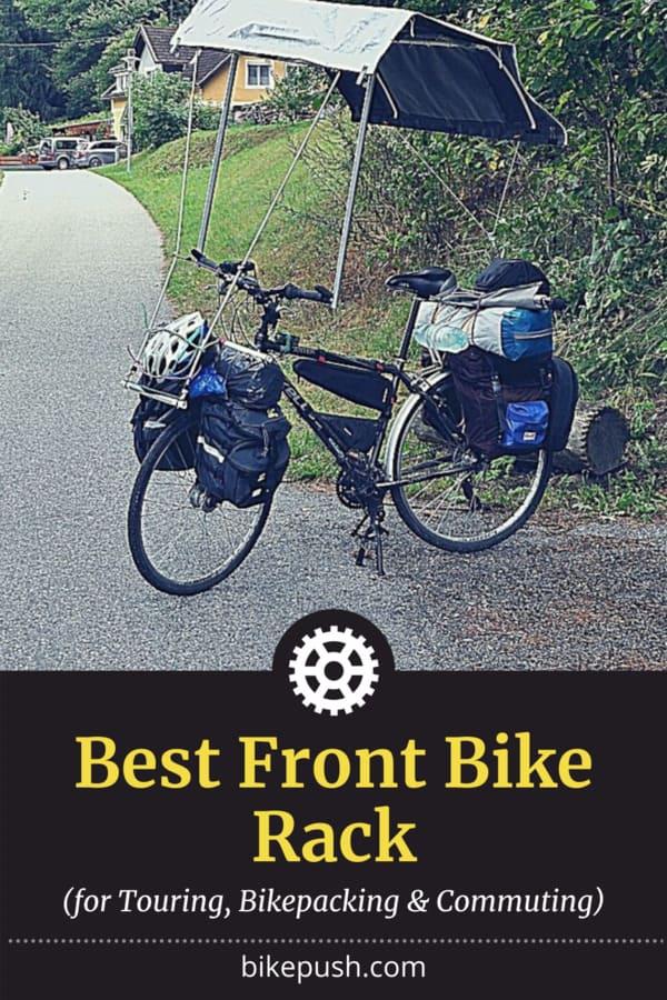 Pinterest Pin for Best Front Bike Rack