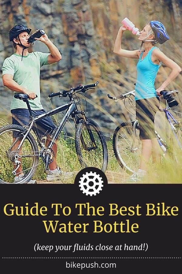 Pinterest Pin for Best Bike Water Bottle