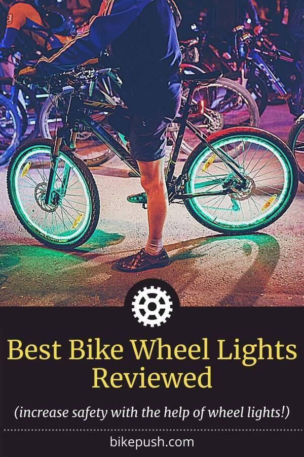 Pinterest Pin for Best Bike Wheel Lights