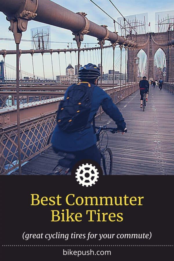 Pinterest image for Best Commuter Tires