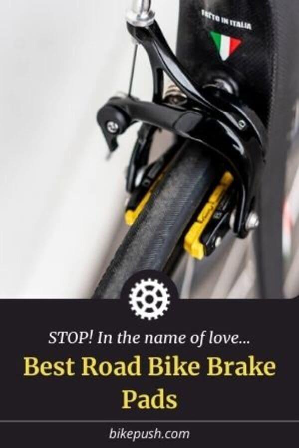 Pinterest Pin for Best Road Bike Brake Pads