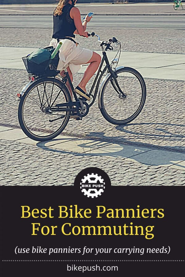 Best Bike Panniers For Commuting - Pinterest Pin small image
