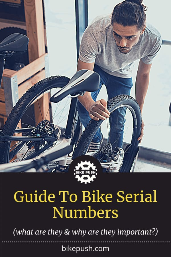 Guide To Bike Serial Numbers - Pinterest Pin small image