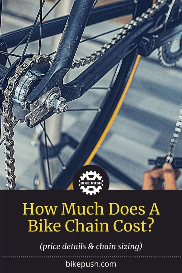 How Much Does A Bike Chain Cost? - Pinterest Pin small image
