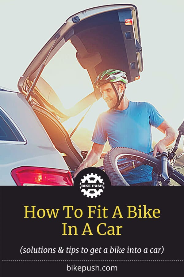 How To Fit A Bike In A Car - Pinterest Pin small image