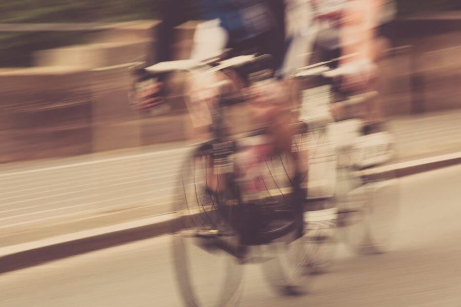 Racing bike contest