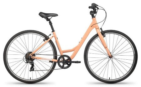 Batch Comfort ST Urban Bike in Gloss Dusty Rose color