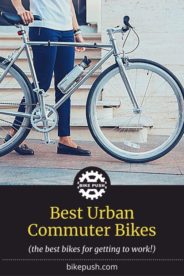 Best Urban Commuter Bikes - Pinterest Pin Small Image