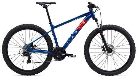 Marin Bolinas Ridge 1 2022 Bike in Blue color