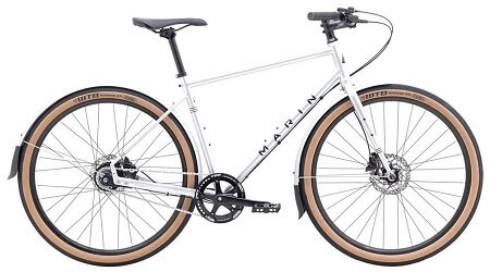 Marin Muirwoods RC Bike 2022 in Gross Silver/Black color