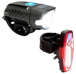 NiteRider Swift 500 Front Light and Sabre 110 Rear Light Set