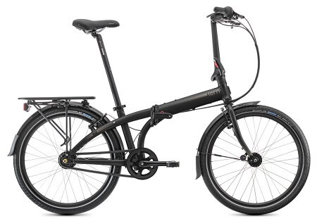 Tern Node D7i Folding Bike in Black/Bronze color