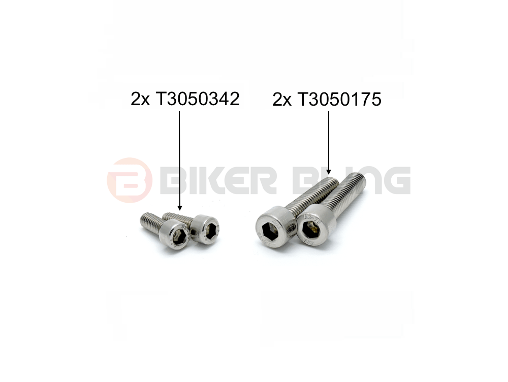 Triumph Daytona 675R 2013-2016 handle bar mounting bolts