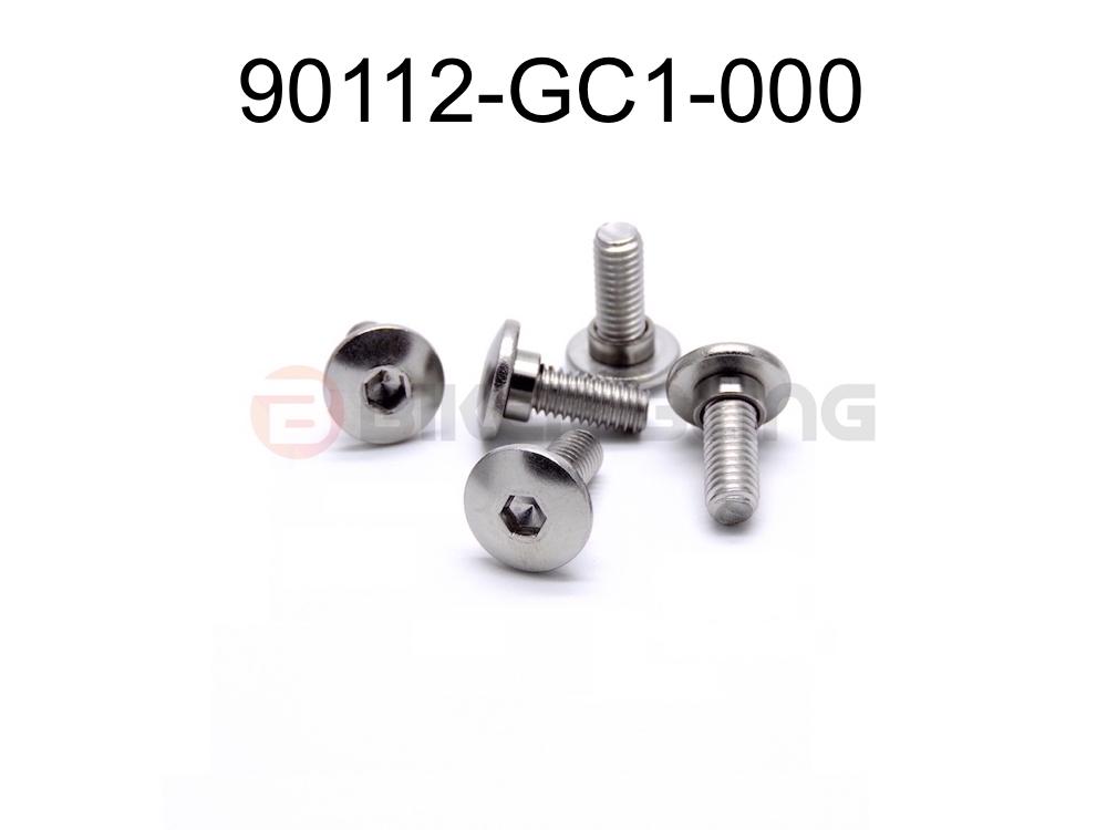 10x 90112-GC1-000 Honda shouldered fairing bolts stainless