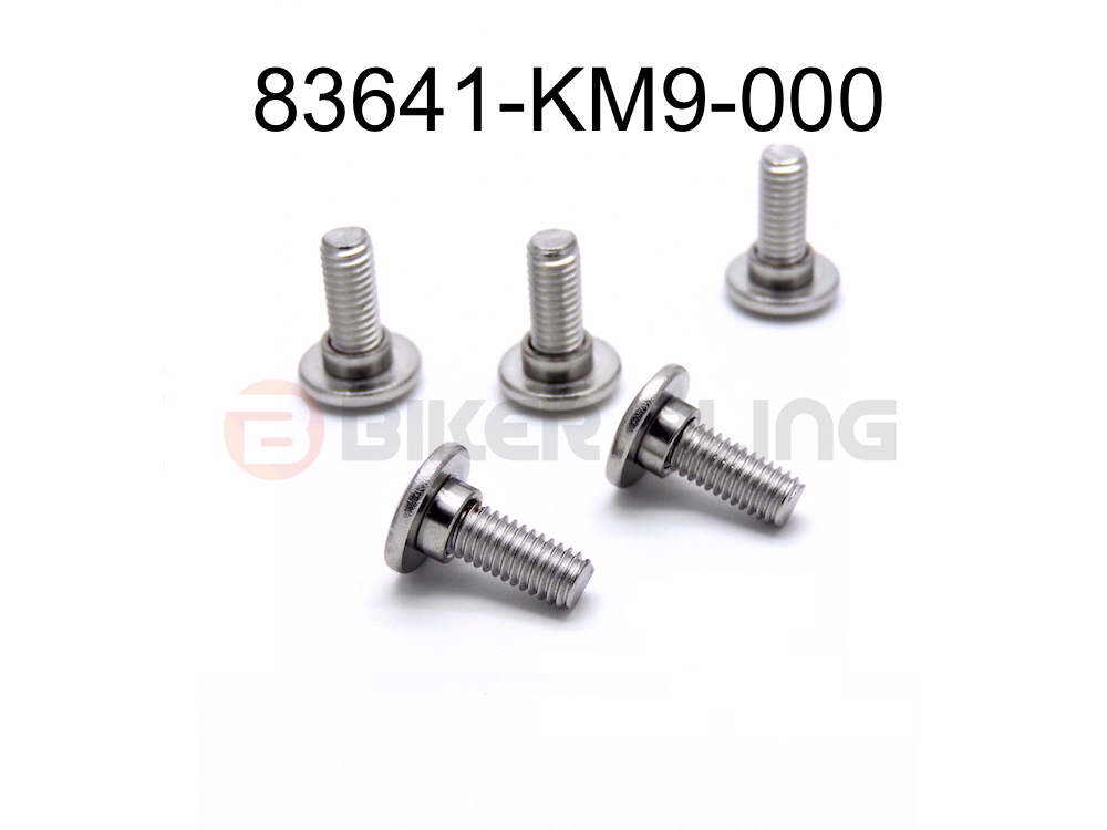 10x 83641-KM9-000 Honda shouldered fairing bolts stainless