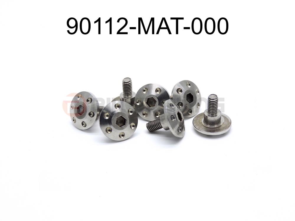 7x 90112-MAT-000 Honda CBR1100XX Blackbird 1999-2007