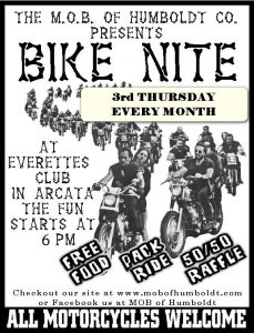 M.O.B. BIKE NITE - 3rd Thursdays