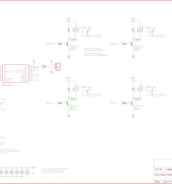 dmx relay board schematic  [ 2377 x 1582 Pixel ]