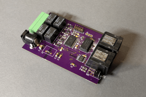 small resolution of pic18f1320 based four channel dmx relay controller