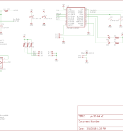schematic for the giant three key keyboard usb interface  [ 1477 x 1102 Pixel ]