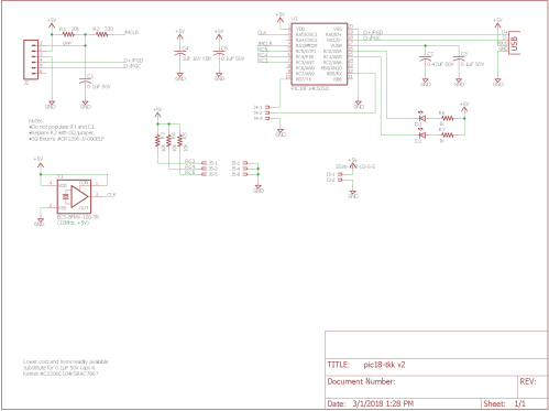 small resolution of schematic for the giant three key keyboard usb interface